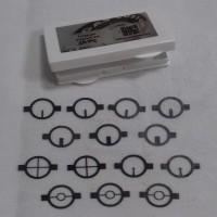 Conjunto completo de inserts com 14 unidades